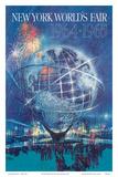 New York World's Fair 1964-1965 - Unisphere Earth Model Lámina por Bob Peak
