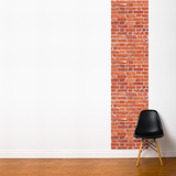 Red Brick Wall Mural