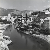 The City of Mostar with the Stari Most (Old Bridge), Bosnia Herzegovina Photographic Print by Pietro Ronchetti