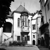 Vlassky Dvur (The Italian Court), Old Royal Mint of Kutná Hora, a Town on the Outskirts of Prague Photographic Print by Pietro Ronchetti