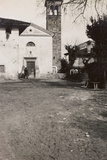 WWI: the Church of Soleschiano Manzano Photographic Print by  Bietti