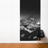 Black Sunset in the Himalayas of Nepal Wall Mural