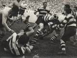 Rugby Match Photographic Print by Luigi Leoni