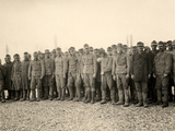 Prisoners at Bagnaria Arsa During World War I Photographic Print by Ugo Ojetti
