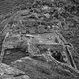 Ruins of the Lost City of the Incas Seen from Above, Machu Picchu, Peru Photographic Print by Pietro Ronchetti