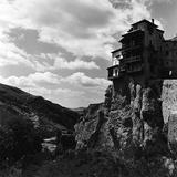 Pietro Ronchetti - The Casas Colgadas in Cuenca, Spain Fotografická reprodukce