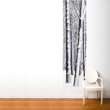 White forest Wall Mural