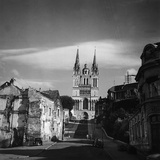The Cathedral of Saint-Maurice in Angers Photographic Print by Pietro Ronchetti