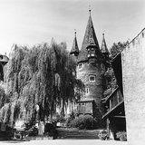 The Evocative Medieval Tower Diebsturm (Tower of Thieves) in Lindau, Baveria Photographic Print by Pietro Ronchetti