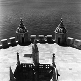 Interior of the Tower of Belem, Lisbon Photographic Print by Pietro Ronchetti