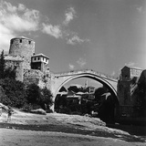 The Stari Most (Old Bridge) in Mostar, Bosnia Herzegovina Photographic Print by Pietro Ronchetti