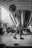 Coni Sporting Event: the Rate of Weight Lifting Reproduction photographique par Luigi Leoni