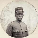 Portrait of the General Bertotti, Comander of Italian Troops Sent to Albania During WWI Photographic Print