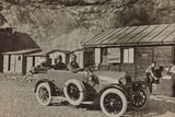 Campagna Di Guerra 1915-1916-1917-1918: Soldiers in the Car Photographic Print