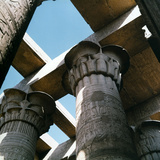 Temple of Philae, Detail of Composite Capitals Photographic Print by Pietro Ronchetti
