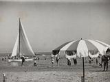 Viaggi Italadria- Rimini: Rimini-Riccione-Cattolica, the Beach Photographic Print
