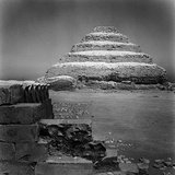 The Stepped Pyramid of Saqqara, Tomb of the Pharaoh Djoser Photographic Print by Pietro Ronchetti