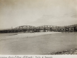 Leadership Corps of Engineers 2nd Area 3rd Army, Bridge on the River Isonzo, Sagrado Photographic Print