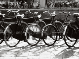 Bicycles in Amsterdam Photographic Print by Dusan Stanimirovitch