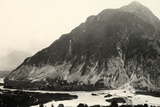 The Isonzo River and Mount Polienik in Slovenia During World War I Photographic Print by Ugo Ojetti
