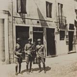 Campagna Di Guerra 1915-1916-1917-1918: Group of Gunners in San Daniele Del Friuli Photographic Print