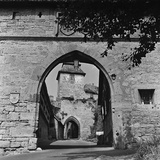 The Kobolzeller Tor, Entranceway to the Hamlet of Rothenburg Ob Der Tauber Photographic Print by Pietro Ronchetti