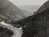 The River Natisone Near the Border During the First World War Photographic Print by Luigi Verdi