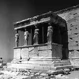 Portico of the Caryatids or Korai, Acropolis, Athens Photographic Print by Pietro Ronchetti
