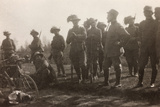 WWI: the Ninth Battalion of the Bersaglieri Cyclists Photographic Print