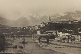 Visions of War 1915-1918: Rubble of the Bridge over the Piave Belluno Photographic Print by Vincenzo Aragozzini