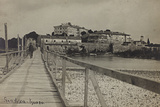 View of Gradisca on the River Isonzo Photographic Print