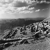 Terraced Summit of Nemrut Dagiremains with Remains of the Colossal Statues Photographic Print by Pietro Ronchetti