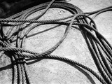 Ship Cords Photographic Print by Dusan Stanimirovitch