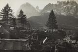 Military Camp at the Slopes of Mount Antelio Photographic Print