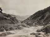 Free State of Verhovac-July 1916: the River in Val D'Aupa Photographic Print