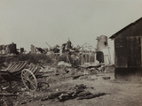 Sugar Factory in Berry-Au-Bac Destroyed by Bombing During World War I Photographic Print