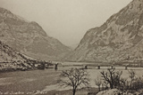 Visions of War 1915-1918: Scalon Bridge over the Piave Photographic Print by Vincenzo Aragozzini