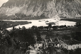 The Isonzo River at Zaga During World War I Photographic Print by Ugo Ojetti