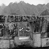 Ruins of the Lost City of the Incas, Seen from an Opening in the Wall Photographic Print by Pietro Ronchetti