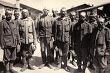 Austrian Prisoners in Bagnaria Arsa Reproduction photographique par Ugo Ojetti