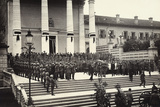 Funeral in Udine of General Chinotto, Italian World War I Hero Photographic Print by Ugo Ojetti