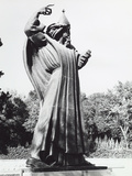 Statue of a Saint in Split Photographic Print by Dusan Stanimirovitch