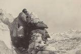 World War I: Launch Alpine on Top of Black Mountain Photographic Print