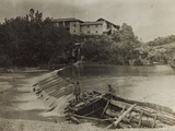 Mill on the River Natisone in Premariacco During the First World War Photographic Print by Luigi Verdi