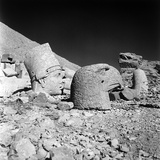Head of a God and Head of an Eagle, Remains of the Temple of Antiochus I Photographic Print by Pietro Ronchetti