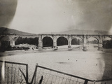 Railway Bridge in Gorizia During the First World War Photographic Print by Luigi Verdi