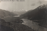 First World War: A Panoramic View of the Pass of Raetia (Reschen) Photographic Print