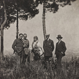 Campagna Di Guerra 1915-1916-1917-1918: Group Portrait Photographic Print