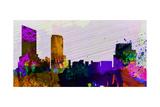 Grand Rapids City Skyline Posters by  NaxArt