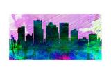 Phoenix City Skyline Posters by  NaxArt